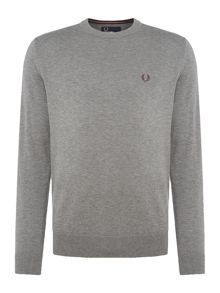Fred Perry Cotton crew neck jumper