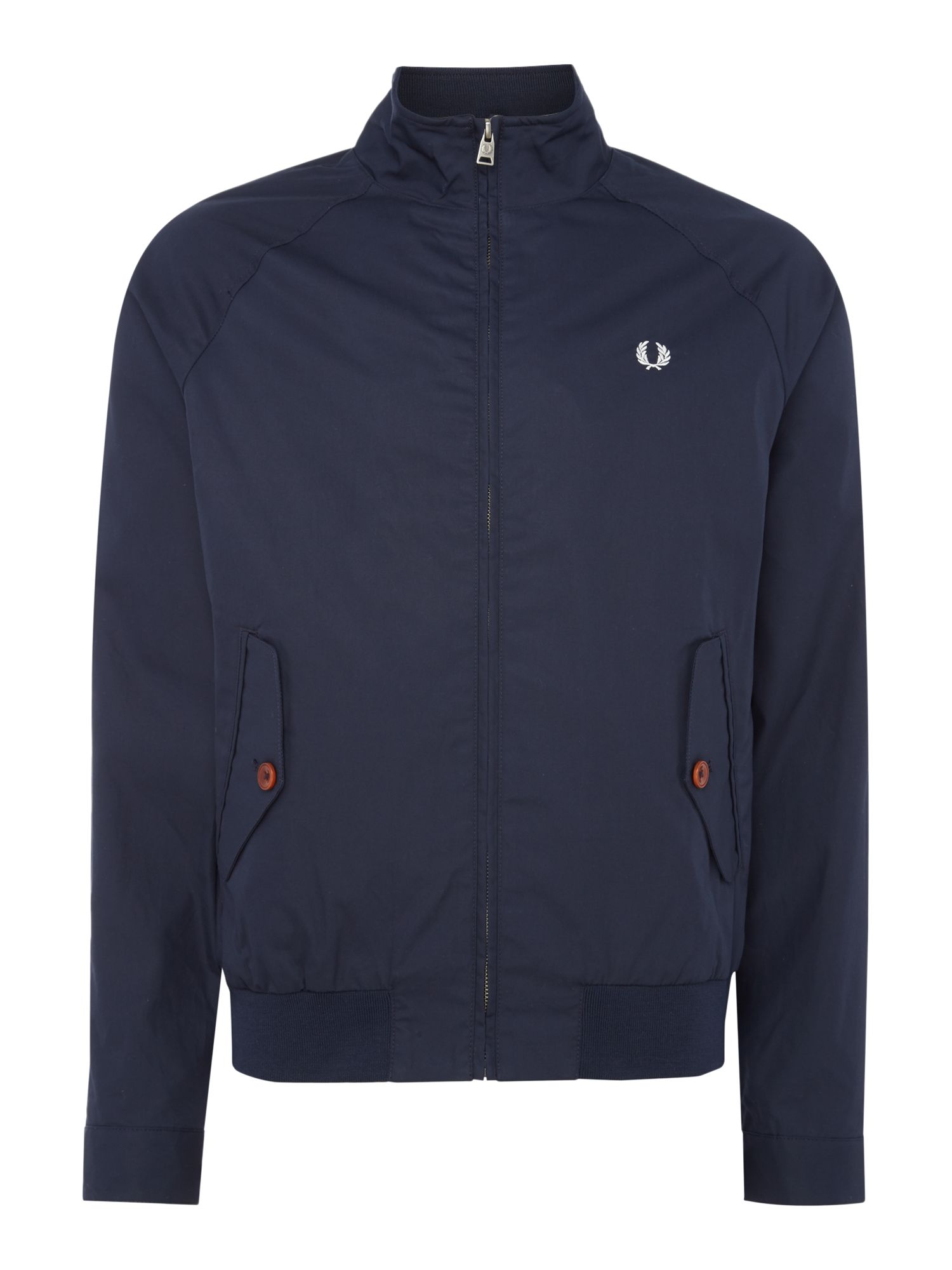 Mens Fred Perry Zip blouson jacket Navy