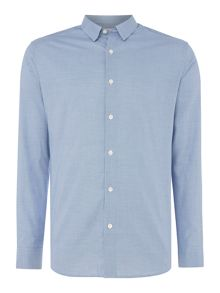 Selected Homme Small-Check Long Sleeve Shirt