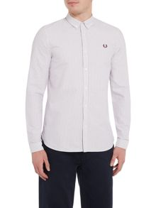 Fred Perry Long sleeve pinstripe shirt