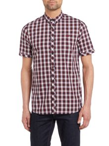 Fred Perry Summer tartan short sleeve shirt