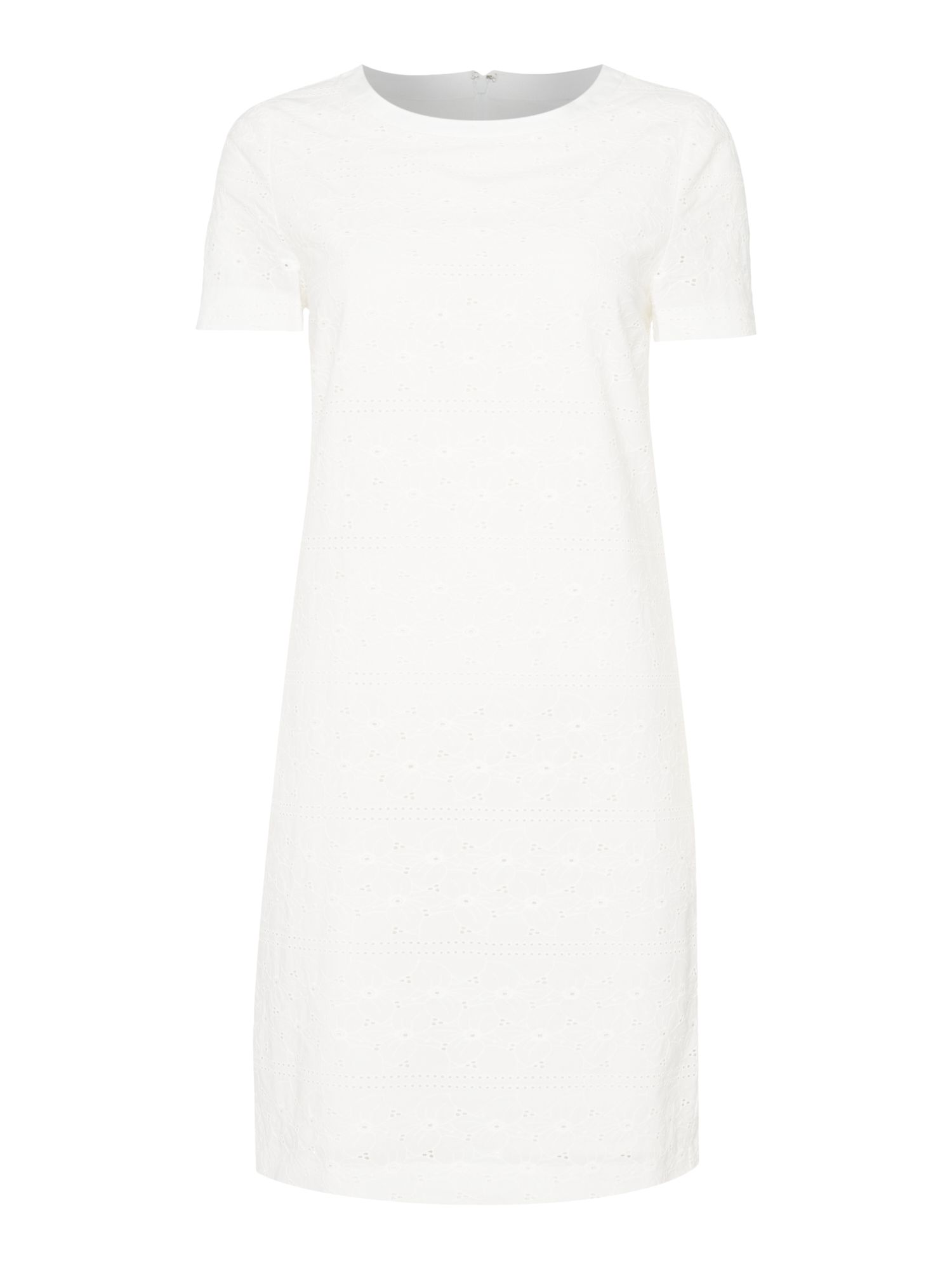 Gant Broderie anglaise dress, White