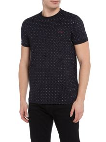 Fred Perry Square print short sleeve t-shirt