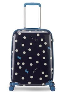 Radley Vintage dog dot 8 wheel hard cabin suitcase