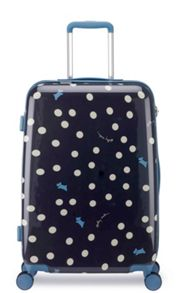 Radley Vintage dog dot 8 wheel hard medium suitcase