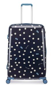 Radley Vintage dog dot 8 wheel hard large suitcase