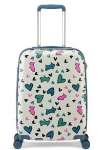 Radley Love me love my dog 8 wheel hard cabin suitcase