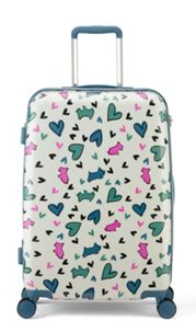 Radley Love me love my dog 8 wheel hard medium suitcase
