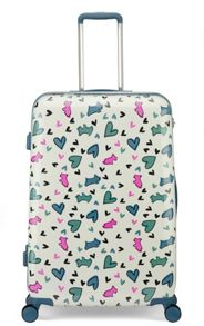 Radley Love me love my dog 8 wheel hard large suitcase