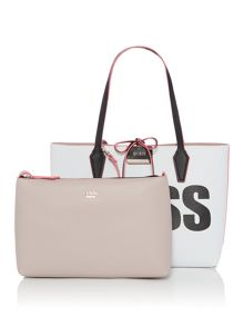 Guess Bobbie guess reversible tote bag