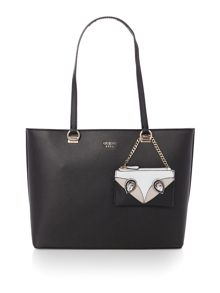 Guess Kizzy tote shoulder with keychain bag