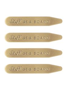 Gentlemen's Hardware Boxed Collar Stiffeners