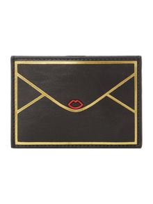 Lulu Guinness Lip envelope  card holder