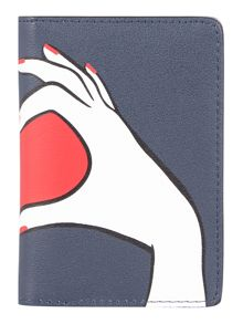 Lulu Guinness Geart hands card holder