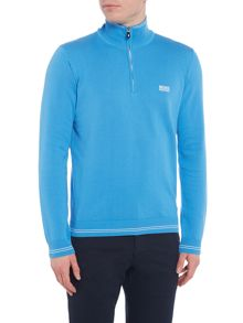 Hugo Boss Zime half zip logo jumper