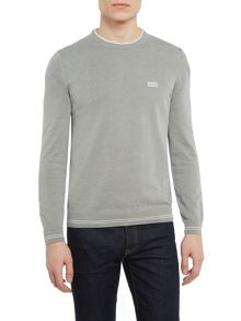 Hugo Boss Rime crew neck logo jumper