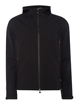 Japple zip-up tech hoodied jacket