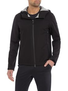 Hugo Boss Japple  zip-up tech hoodied jacket