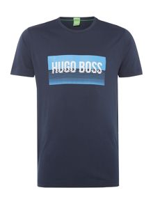 Hugo Boss Rectangle Logo Crew Neck T-Shirt