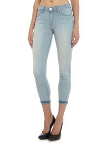 Lee Scarlett skinny jean in chaos bleach