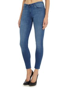 Lee Scarlett skinny jean in worn pacific