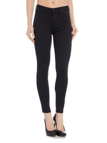 Lee Scarlett high waisted jeans in black rinse