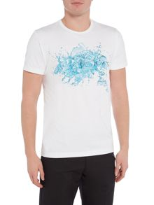 Hugo Boss Splash Logo Crew Neck T-Shirt