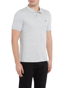 Original Penguin Waffle-Front Short-Sleeve Polo-Shirt