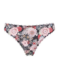 Retro Bloom Thong