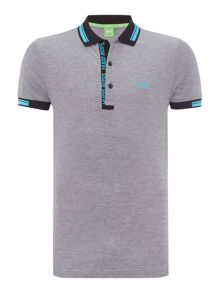 Hugo Boss Paule 4 slim fit oxford pique polo shirt
