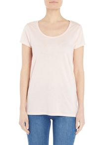 Lee Ultimate short sleeve tee in pale pink