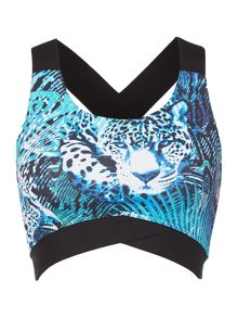 Biba Jungle jaguar bra top