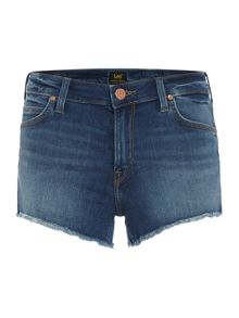 Lee Regular jean shorts in midtown blues