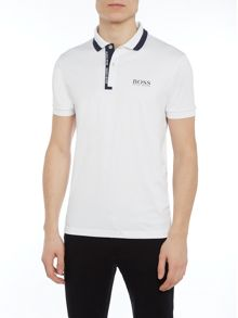 Hugo Boss Golf paddy pro 2 logo placket polo shirt
