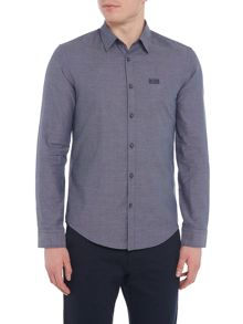 Hugo Boss C-buster long-sleeve dobby shirt
