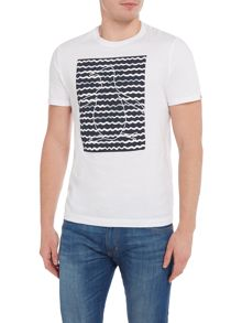 Original Penguin Waves Printed Pete Short-Sleeve T-shirt
