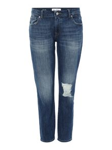 DL1961 Davis skinny boyfriend fit jean in hollar