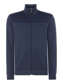 Hugo Boss Skaz Zip-Up Funnel Neck Sweat Top