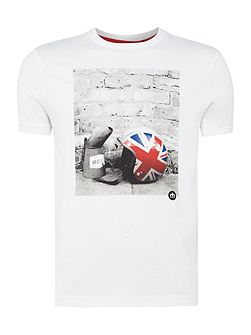 Torcross helmet print short sleeve t-shirt
