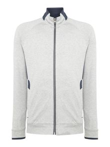 Hugo Boss Salvar zip-up lightweight sweat top