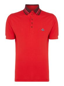 Vivienne Westwood Tipped collar polo shirt