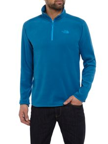 The North Face Mens 100 glacier quater zip sweat