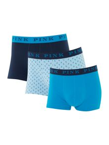 Thomas Pink 3 Pack Lucan Plain and Print Trunks