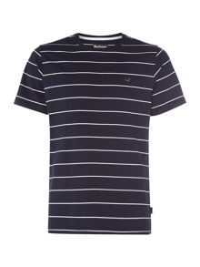 Barbour 1894 Bates striped short sleeve t-shirt