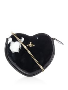 Vivienne Westwood Margate heart crossbody bag