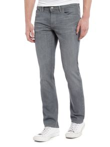 Hugo Boss Orange 63 slim fit grey jeans