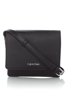 Calvin Klein Marissa small flapover crossbody bag