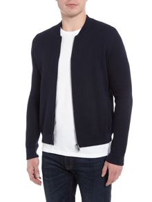Hugo Boss Kobamers zip-up baseball cardigan