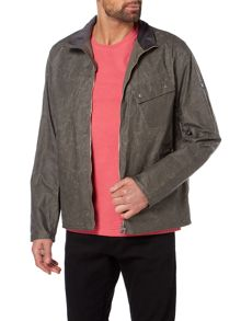 Barbour Aspect short wax map pocket jacket