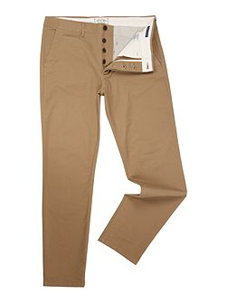 Casual Slim-Fit Chino-Trousers
